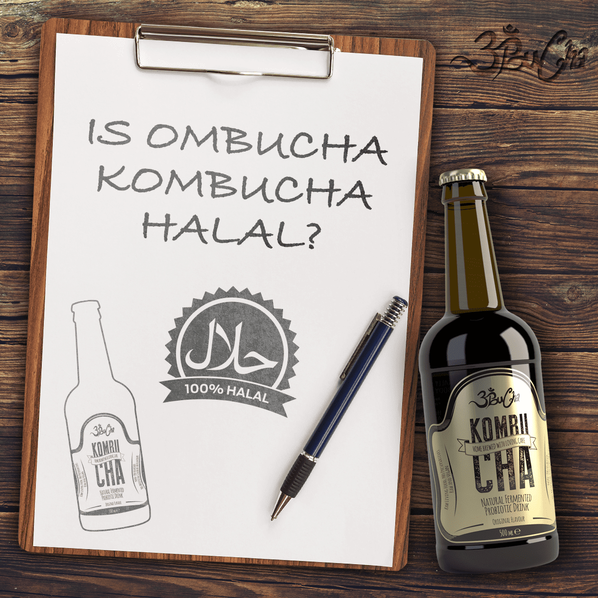 is ombucha kombucha halal