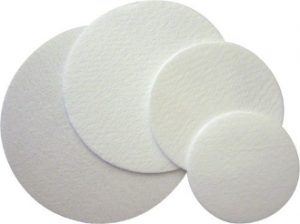 Synthetic filter disc 0.22μm pore size - 90mm diameter