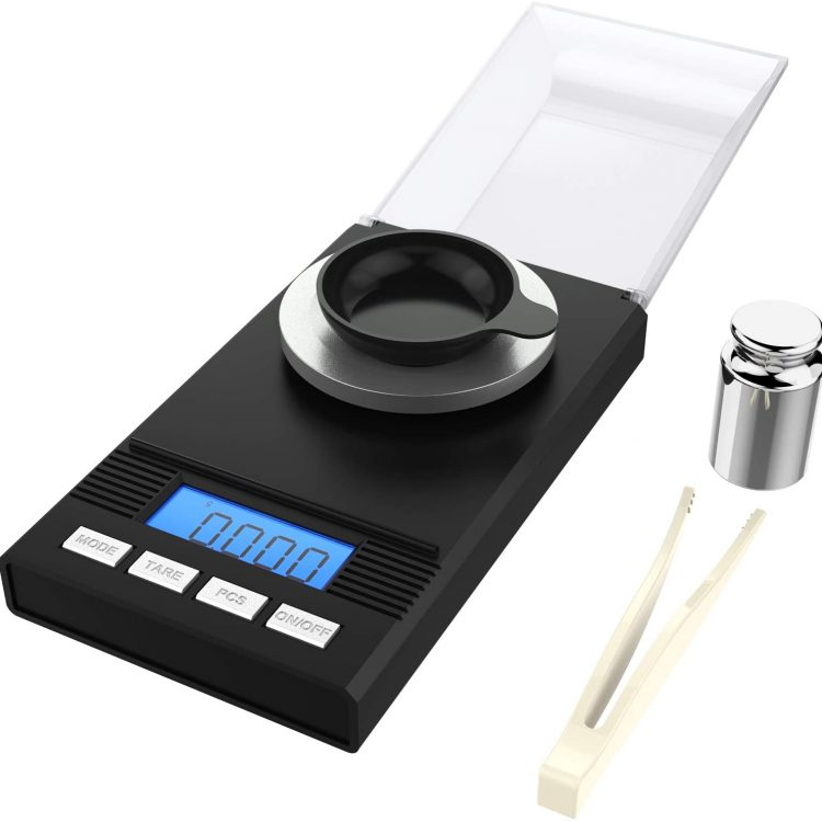 Milligram Precisions Digital Weight Scales [0.001g - 50g]